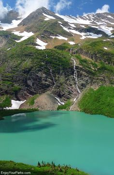 Gunsight Lake, Gunsight Pass Trail, Glacier National Park
