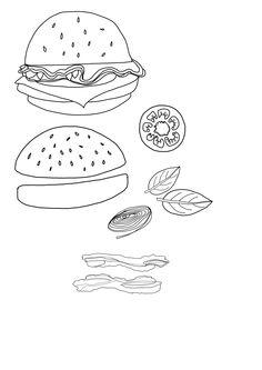 Food Illustrations.