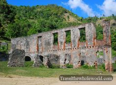 Haiti - Sans-Souci Palace Walls