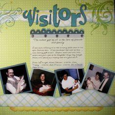 Keepsake Crafts | More Baby Scrapbook Pages – Visitors | http://keepsakecrafts.net/blog