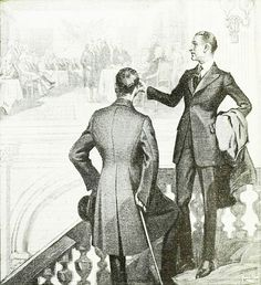 Illustration from an E. V. Price Tailors ad, 1919. #Edwardian #vintage #menswear #fashion #clothes