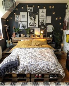 Bohemian Style Ideas For Bedroom Decor Design Bohemian Style Ideas For. - Bohemian Style Ideas For Bedroom Decor Design Bohemian Style Ideas For Bedroom Decor Desi - Dream Rooms, Dream Bedroom, Home Decor Bedroom, Bedroom Ideas, Design Bedroom, Modern Bedroom, Master Bedroom, Bed Design, Contemporary Bedroom