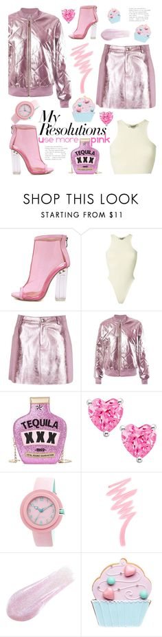 """""""#PolyPresents: New Year's Resolutions"""" by elza-santos ❤ liked on Polyvore featuring WithChic, Yeezy by Kanye West, River Island, Sans Souci, Crayo, Victoria's Secret, Lipstick Queen, contestentry and polyPresents"""