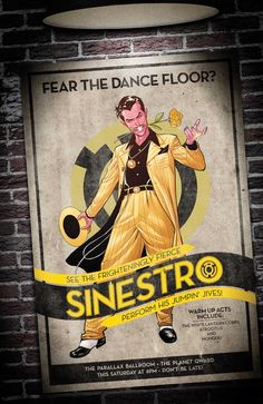 Sinestro by Emanuela Luppachino with Tomeu Morey