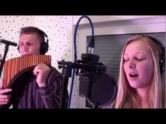 Hallelujah - Panflöte David Döring & Steffi Klassen - YouTube