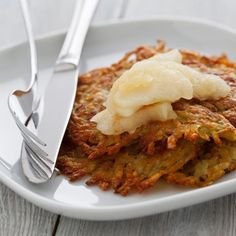 Galette de choucroute Potato Rosti Recipe, Summer Recipes, New Recipes, Vegetable Side Dishes, What To Cook, Easy Cooking, Us Foods, Food To Make, Food Processor Recipes