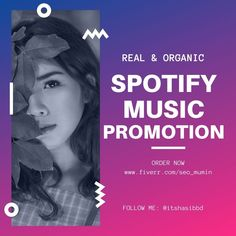 We can Promote your Music to Real Audiences according teams and conditions. Our team use years of experience to provide you the best possible result ensuring your success. How does it work? We use will optimize our social media post to reach music fans (Pinterest and Facebook) We use our Music blog, along with the music lover emails list, to promote your content. How it helps you? Your music will be exposed to Organic engaging. Better Seo ranking in the platform Better engagements Seo Ranking, Music Promotion, Your Music, Music Lovers, Engagements, Digital Marketing, Fans, Thankful, Platform