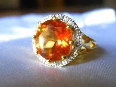 5.80 CARAT TW GENUINE DIAMOND & AZOTIC GEMSTONE PLATINUM STERLING SILVER RING