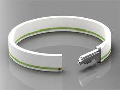 Un bracelet fashion et pratique ... ne perdez plus jamais vos clés !    http://www.trendy-magazine.com/news/avec-bracelet-key-portez-vos-cles-au-poignet/#