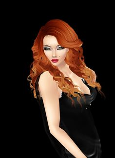 """Red is the Color of Passion"" Captured Inside IMVU - Join the Fun! And Love"