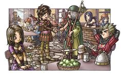 Dragon Quest all classes | 1 2 3 4 5