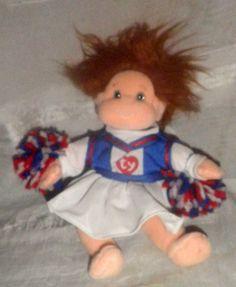 Ty Gear beany baby cheerleader doll 10 inch #Ty