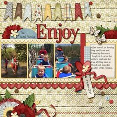 GingerScraps :: Bundled Goodies :: Carefree Digital Scrapbook Collection