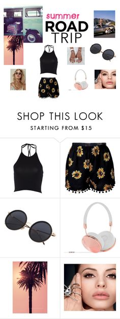 """Summer Roadtrip"" by coolpineapple-765 ❤ liked on Polyvore featuring Frends and roadtrip"