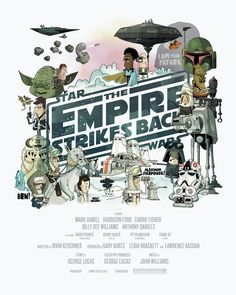 Star Wars Comic Poster Alternatives Empire Strikes Back