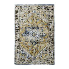 Antique Heriz rug from the Antiquarian Collection - Amir Gold 8704 - Louis De Poortere Store Silver Rug, Red Rugs, Dark Grey Rug, Heriz Rugs, Blue Grey Rug, Rugs, Gold Rug, Flat Woven Rug, Purple Rug
