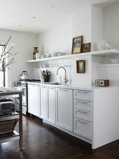 Stacey Smithers' White Kitchen | House & Home