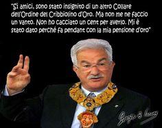L'operaio in pensione Raffaele Bonanni is golden man