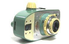 UNIQUE VINTAGE POLAND CAMERA ALFA-2 lens WZFO-EMITAR WORK PERFEKTLY