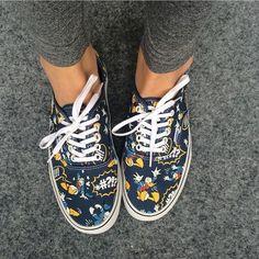 Jos haluu pyrkii täydellisyytee nii pitää alottaa kengistä #kelpaaköpöttää #vans #kalleanka