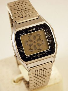 Casio-a201 As seen in the movies Blue Thunder & Back to the Future