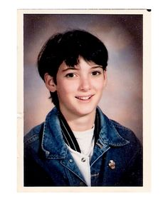 "Winona Ryder,in High School  ""I was wearing an old Salvation Army shop boy's suit. As I went to the bathroom I heard people saying, 'Hey, faggot'. They slammed my head into a locker. I fell to the ground and they started to kick the shit out of me. I had to have stitches. The school kicked me out, not the bullies. Years later, I went to a coffee shop and I ran into one of the girls who'd kicked me, and she said, 'Winona, Winona, can I have your autograph?'"