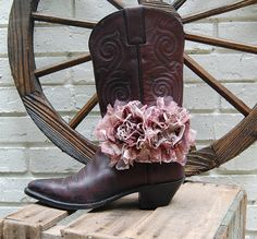 Boho Cowgirl Boot Bracelet by GallimaufryClothing, $18.00
