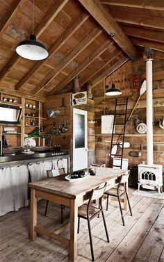 Interiors: A self-built 'den' in Normandy - Telegraph