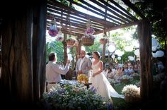 Conto de fadas: o casamento de Ícaro e Ana Luiza