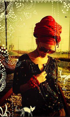 Head wrap: zoe-by Hirut Joseph