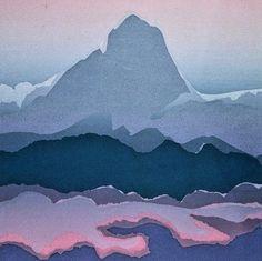 """Tahiti"" Landscape Original Serigraph S&N Silkscreen Edition by Mary Goslen Art Thou, Silk Screen Printing, Tahiti, Art Ideas, Mary, Landscape, The Originals, Prints, Design"