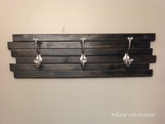 Make Your Own Towel Hooks