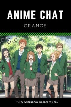 A short posts of the anime Orange. List Of Anime Series, Anime Chat, Kafka On The Shore, Another Anime, Science Fiction, Posts, Cat, Orange, Sci Fi
