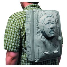 Han Solo Is Trapped In Your Carbonite Backpack
