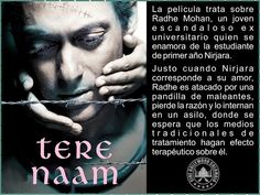 Cine Bollywood Colombia: TERE NAAM