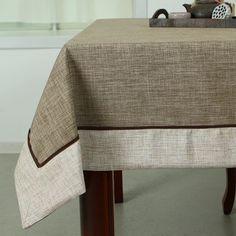 Barato Promoção de venda quente sólida toalha de mesa de crochê Mantel Home…