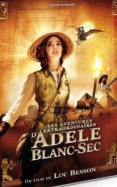 LES AVENTURES EXTRAORDINAIRES D'ADELE BLANC-SEC - LUC BESSON (DVD)