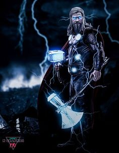 H GraphicsPro Thor in Avengers End Game #thor #endgame #avengers