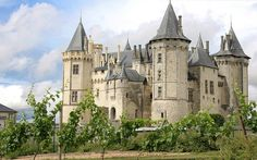 Château de Saumur - http://www.beach-homes.org/ beach homes and dream homes across the globe to live your dreams!