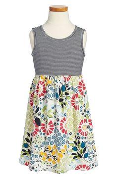 Tea Collection 'Seaside Garden' Tank Dress (Toddler Girls, Little Girls & Big Girls) available at #Nordstrom