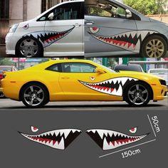 Shark Teeth Car Decal