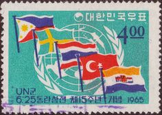 Stamp%3A%20Philippines%2C%20Sweden%2C%20Thailand%2C%20Turkey%20and%20South%20Africa%20(Korea%2C%20South)%20(UN%20Emblem%20and%20Flags)%20Mi%3AKR%20490%20%23colnect%20%23collection%20%23stamps