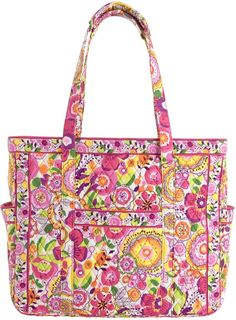 Vera Bradley Get Carried Away Tote on shopstyle.com