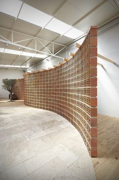 Image 8 of 16 from gallery of Orfi Sera / YERce Architecture. Photograph by Emin Emrah Loft Interior Design, Interior Walls, Architecture Life, Landscape Architecture, Brick Texture, Loft Interiors, Architectural Section, House Entrance, Brick Wall