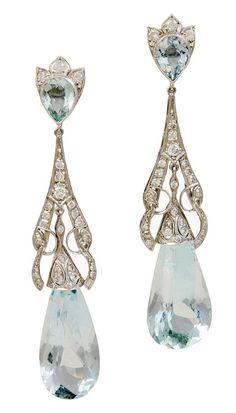 Diamond and Aquamarine