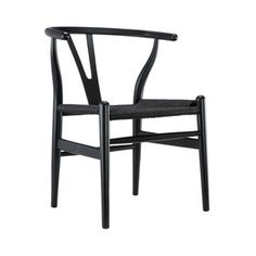 Sidney Modern Armchair in Black