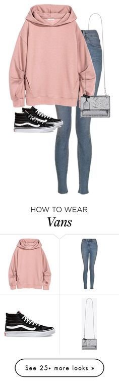 """""""Untitled #13185"""" by alexsrogers on Polyvore featuring Topshop, Vans and Yves Saint Laurent"""