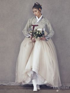 Kim Hye Ah by Kim Bo Ha for My Wedding Korea Jan 2016