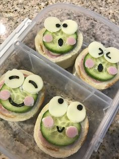 Ham Sandwich topped with Kerokero keropi characters