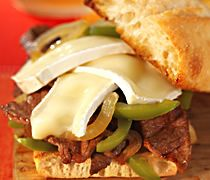 Philly-Style Cheeseburgers